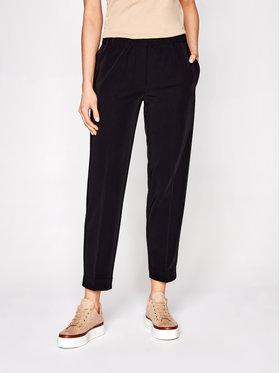 Samsøe Samsøe Samsøe Samsøe Текстилни панталони Hoys F15404308 Черен Regular Fit
