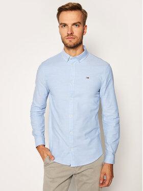 Tommy Jeans Tommy Jeans Ing Stretch Oxford DM0DM09594 Kék Slim Fit