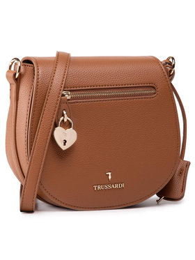 Trussardi Trussardi Дамска чанта Shoulder Md Grana 75B01081 Кафяв