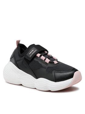 Geox Geox Sneakersy J Bubblex G. B J16CNB 01554 C9999 M Czarny