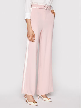 Marella Marella Текстилни панталони Adunco 31312711 Розов Regular Fit
