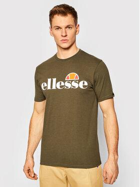 Ellesse Ellesse T-Shirt Prado SHC07405 Zelená Regular Fit