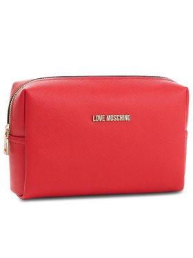 LOVE MOSCHINO LOVE MOSCHINO Kosmetyczka JC5390PP06LQ0500 Czerwony
