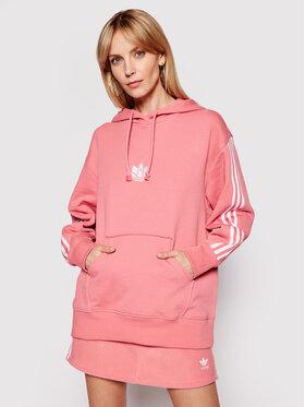 adidas adidas Mikina GN6705 Růžová Regular Fit