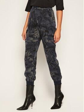Desigual Desigual Текстилни панталони Malala 20WWPN15 Тъмносин Regular Fit