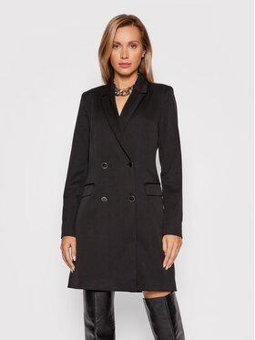Guess Guess Ежедневна рокля Emmanuela W1BK02 W5D20 Черен Slim Fit
