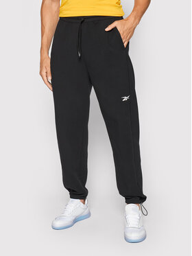 Reebok Reebok Spodnie dresowe DreamBlend GL3125 Czarny Relaxed Fit