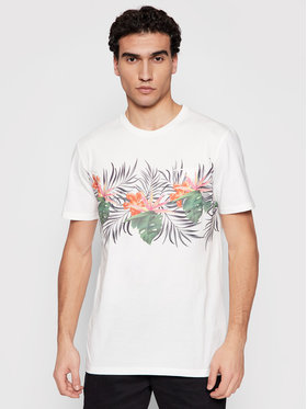 Quiksilver Quiksilver T-Shirt Paradise Express EQYZT06341 Bílá Classic Fit