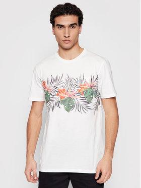 Quiksilver Quiksilver T-Shirt Paradise Express EQYZT06341 Weiß Classic Fit
