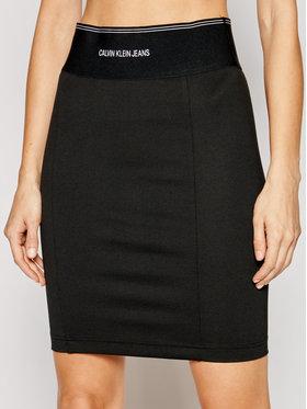 Calvin Klein Jeans Calvin Klein Jeans Fustă tip creion J20J215710 Negru Slim Fit