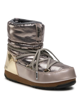 Moon Boot Moon Boot Μπότες Χιονιού Low St.Moritz Wp 24009900001 Χρυσό