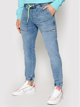 Tommy Jeans Tommy Jeans Joggers kalhoty Scanton DM0DM10248 Tmavomodrá Slim Fit