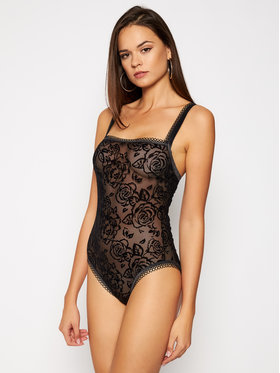 Triumph Triumph Body Velvet Rose Spotlight 10205656 Nero Regular Fit