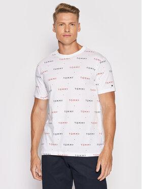 Tommy Hilfiger Tommy Hilfiger T-shirt Cn Ss UM0UM02132 Bianco Regular Fit