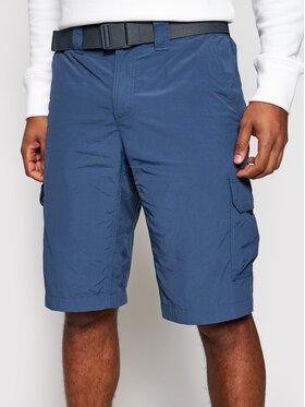 Columbia Columbia Pantaloncini sportivi Silver Ridge II 1794921 Blu Regular Fit