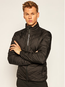 EA7 Emporio Armani EA7 Emporio Armani Пухено яке 8NPB06 PNE1Z 1200 Черен Regular Fit