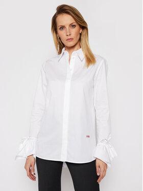 Victoria Victoria Beckham Victoria Victoria Beckham Koszula Stardust Poplin 2121WSH002279A Biały Regular Fit