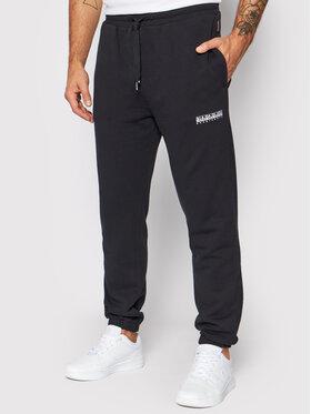 Napapijri Napapijri Teplákové nohavice M-Box NP0A4FR6 Čierna Regular Fit