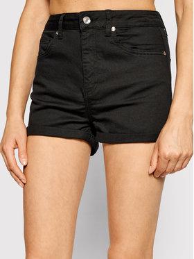 Liu Jo Liu Jo Szorty jeansowe WA1253 T4033 Czarny Slim Fit
