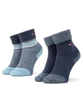 Tommy Hilfiger Tommy Hilfiger Σετ ψηλές κάλτσες παιδικές 2 τεμαχίων 100000797 Μπλε