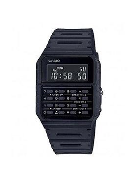 Casio Casio Часовник Vintage CA-53WF-1BEF Черен