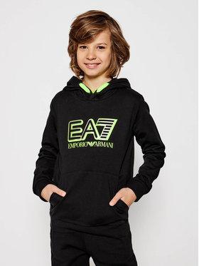 EA7 Emporio Armani EA7 Emporio Armani Sweatshirt 6HBM52 BJ05Z 1200 Schwarz Regular Fit