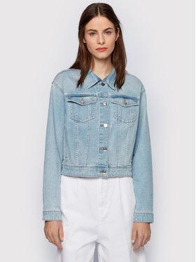 Boss Boss Kurtka jeansowa 1.0 Light 50448340 Niebieski Relaxed Fit