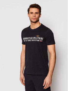 Aeronautica Militare Aeronautica Militare T-shirt 211TS1850J511 Tamnoplava Regular Fit