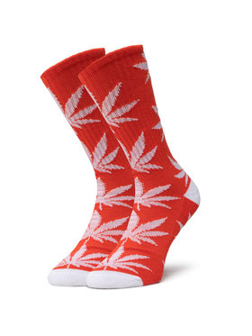 HUF HUF Ponožky Vysoké Unisex Essentials Plantlife Sock SK00298 r.OS Oranžová