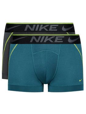Nike Nike Komplektas: 2 poros trumpikių Breathe Micro KE1019 Spalvota