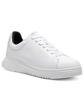 Emporio Armani Emporio Armani Sneakersy X4X312 XM490 A222 Biela