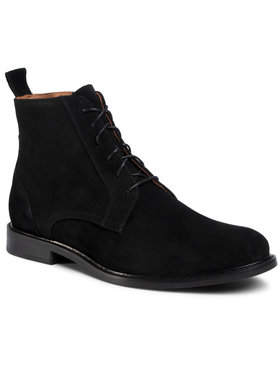Gino Rossi Gino Rossi Šnurovacia obuv Chuck MTU379-545-R500-9900-0 Čierna