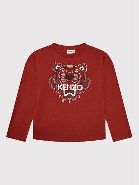 Kenzo Kids Kenzo Kids Bluzka K25177 Bordowy Regular Fit