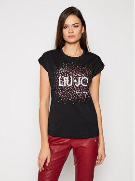 Liu Jo Liu Jo T-Shirt WA1327 J0094 Czarny Regular Fit