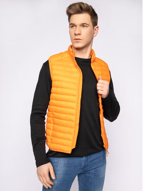 Save The Duck Save The Duck Gilet D8241M GIGAX Arancione Regular Fit