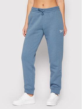 Reebok Reebok Spodnie dresowe Fleece GS9374 Niebieski Regular Fit