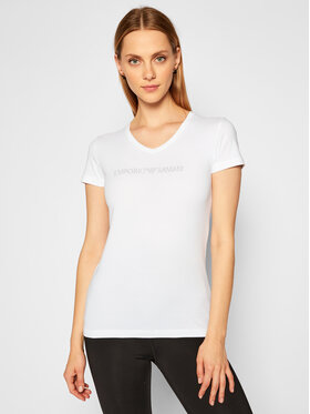 Emporio Armani Underwear Emporio Armani Underwear Тишърт 163321 0A263 00010 Бял Regular Fit