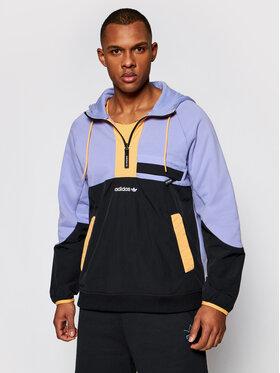 adidas adidas Sweatshirt Adventure Colorblock Mixed Material GN2366 Violett Regular Fit