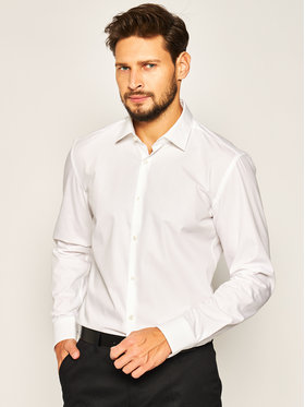 Hugo Hugo Hemd Kenno 50426249 Weiß Slim Fit