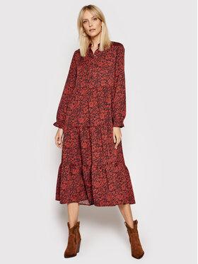 Levi's® Levi's® Marškinių tipo suknelė Marion 29278-0001 Bordinė Regular Fit
