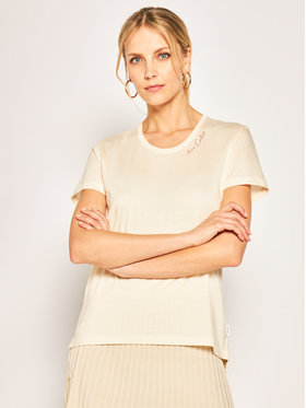 Calvin Klein Calvin Klein T-shirt Love Calvin K20K201860 Jaune Regular Fit