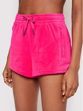 Juicy Couture Juicy Couture Αθλητικό σορτς Tamia JCWH121001 Ροζ Regular Fit