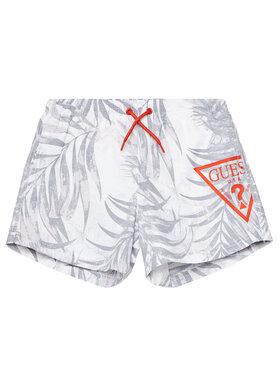 Guess Guess Pantaloni scurți sport L1GZ00 TEL60 Alb Regular Fit
