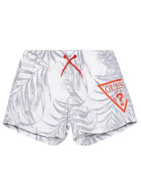 Guess Guess Short de sport L1GZ00 TEL60 Blanc Regular Fit