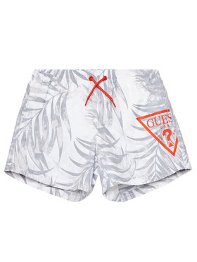 Guess Guess Sportske kratke hlače L1GZ00 TEL60 Bijela Regular Fit