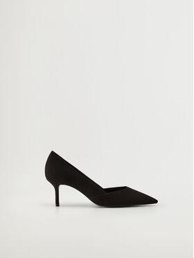 Mango Mango Pantofi cu toc subțire Week 17010155 Negru