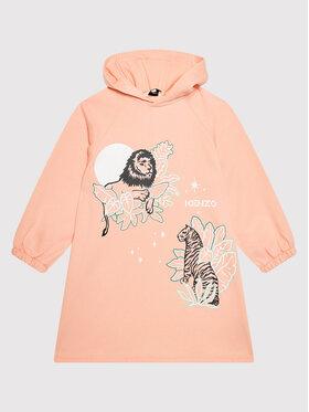 Kenzo Kids Kenzo Kids Ежедневна рокля K12067 Розов Regular Fit