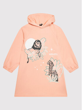 Kenzo Kids Kenzo Kids Φόρεμα καθημερινό K12067 Ροζ Regular Fit