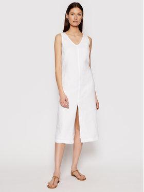 Seafolly Seafolly Ljetna haljina Essential Linen 54361-DR Bijela Relaxed Fit
