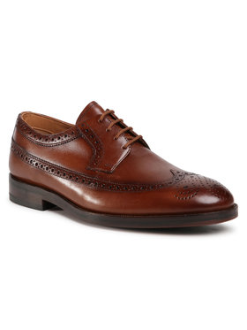 Clarks Clarks Pantofi Oliver Wing 261524347 Maro